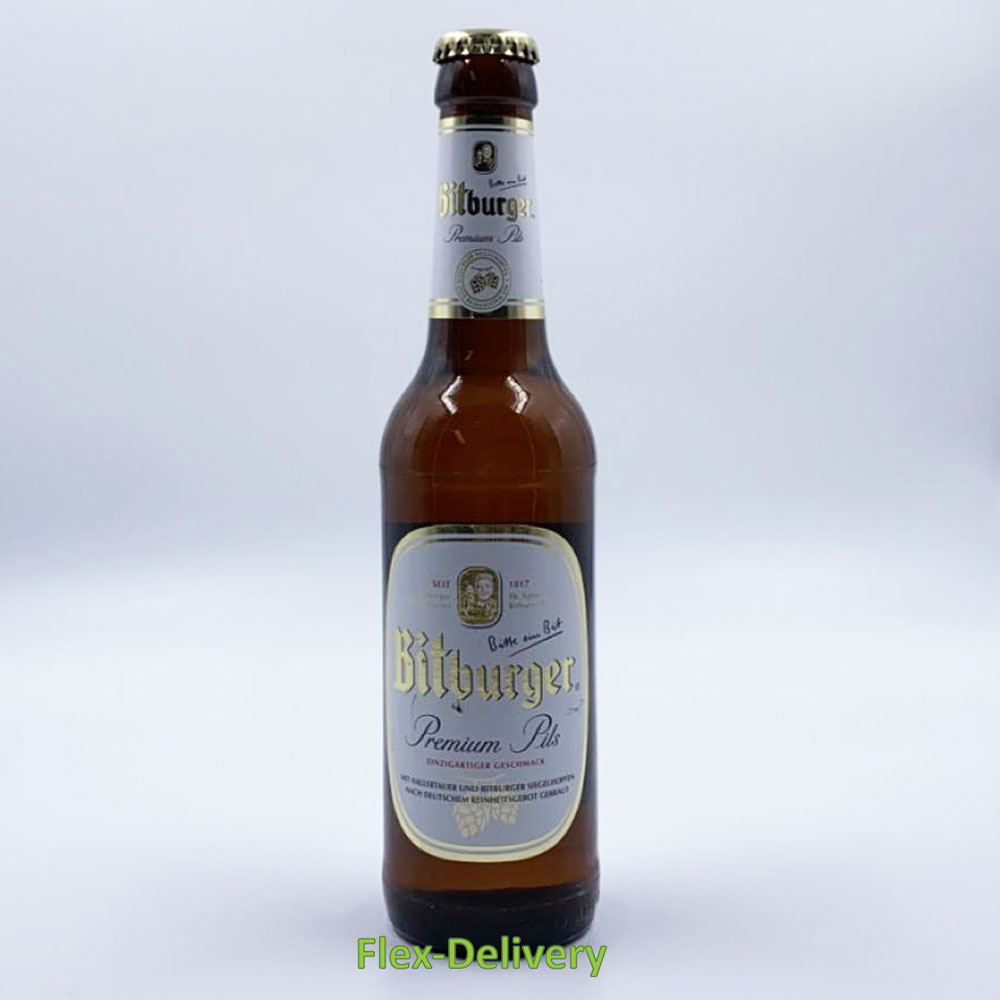 Bitburger 4,8% (4x33cl)